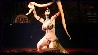 getlinkyoutube.com-Nikki LeVillain's Egyptian Snakedance