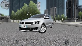 getlinkyoutube.com-City Car Driving 1.5.1 VW Polo 1.2 TSI 6R [G27]