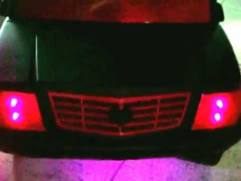 Vulgar Display Of Power Wheels Custom Snookie Escalade Part 2