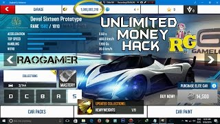 Asphalt 8 UNLIMITED Money Hack Windows 10 (windows 7,8,8.1,10) I Unlimited Money Glitch