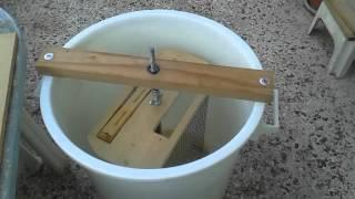 DIY honey extractor