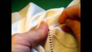 getlinkyoutube.com-Curso de bordado básico 20: Dobladillo con vainica