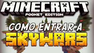 getlinkyoutube.com-Minecraft PE 0.16.0 | COMO ENTRAR A SKYWARS EN MINECRAFT PE 0.16.0