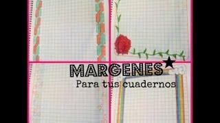 getlinkyoutube.com-✏⚝ Márgenes Para Tus Cuadernos ✎⚝