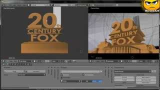 getlinkyoutube.com-Blender - Eigenes 20th Century Fox Intro erstellen [Deutsch]