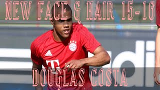 getlinkyoutube.com-NEW FACE Y HAIR DOUGLAS COSTA 2015 :: PES 2013