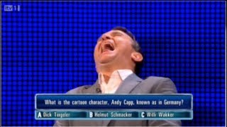 getlinkyoutube.com-The Chase ITV1 - Dick Tingeler - Bradly Walsh Can't stop Laughing 07/10/2012