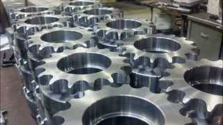 getlinkyoutube.com-CNC milling a sprocket