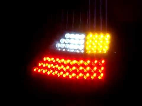 Светодиодные фонари на Опель Астра.MPG