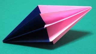 getlinkyoutube.com-Origami - How to make a Diamond (Christmas Decoration)