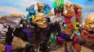 getlinkyoutube.com-BIONICLE Stop-Motion - Legends of Okoto - Chapter 3: Skull Warriors