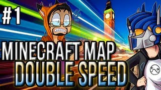 Minecraft Race Map: Double Speed ft ImmortalHD | Ep.1 | The mighty tower of PIGS!