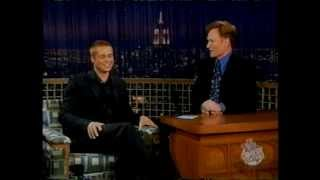 getlinkyoutube.com-Brad Pitt @ Conan O'Brian