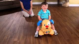 getlinkyoutube.com-Fisher Price - Laugh & Learn - Stride to Ride Puppy