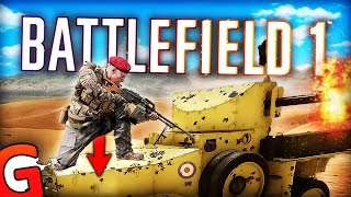 getlinkyoutube.com-T-BAGGING A TANK - Battlefield 1 BETA Funny Moments Gameplay! (BF1 Funtage)