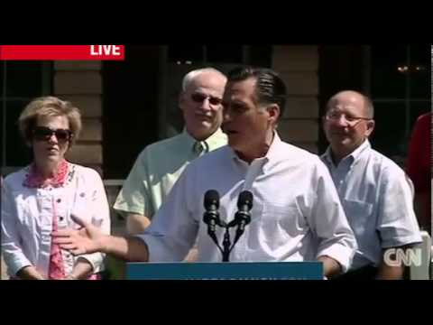 Romney: President Obama is &quot;out of touch&quot; for saying the &quot;private sector is doing fine&quot;