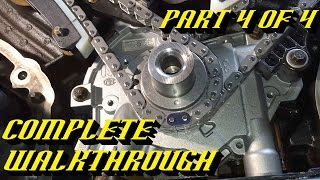 getlinkyoutube.com-Ford 5.4L 3v Engine Timing Chain Kit Replacement Pt 4 of 4: Timing and Startup!