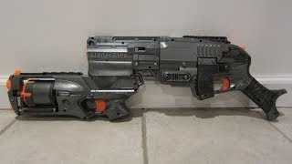 getlinkyoutube.com-[MOD] Nerf Stredgefire [Zombiestrike Sledgefire and Strongarm Integration]