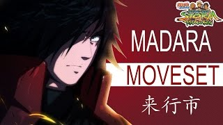 Ultimate Madara Moveset Mod - Naruto Storm Revolution