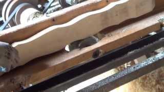 frezowanie sztachet  po szablonie