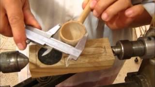 getlinkyoutube.com-Arte en Torno - Como tornear una cuchara parte 1de2