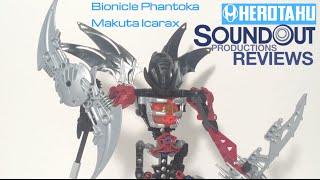 getlinkyoutube.com-Bionicle Phantoka - Makuta Icarax [Soundout Review]