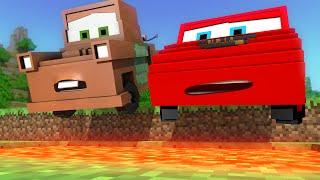 "getlinkyoutube.com-""Disney Pixar's Cars in Minecraft 2"" - Animation"