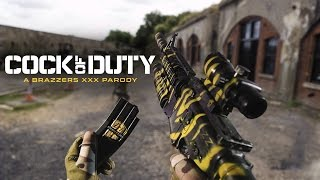 getlinkyoutube.com-Brazzers Presents: Cock of Duty XXX Parody (OFFICIAL TRAILER)