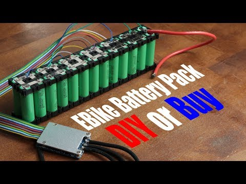 ... Battery Pack || DIY or Buy || Electric Bike Conversion (Part 2)