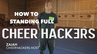 getlinkyoutube.com-Cheer Hacks #2 - How to do a Standing Full - Cheer Hackers