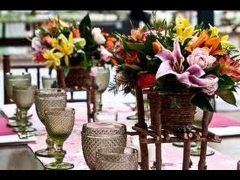 Decoração para Casamento - Ideias Simples de Ornamentação para Casamento Campo e Casa de Festas