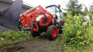 getlinkyoutube.com-2016 kioti ck3510 tractor video clearing land
