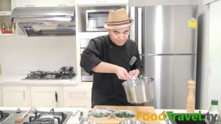 getlinkyoutube.com-ผักโขมอบชีส Baked Spinach with Cheese