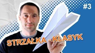 getlinkyoutube.com-JAK ZROBIĆ ŁATWY SAMOLOT Z PAPIERU - STRZAŁKA #3