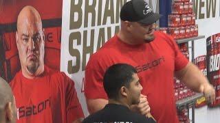 getlinkyoutube.com-Brian Shaw World's Strongest Man at LA Fit Expo 2017
