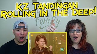 MOM & SON REACTION! KZ Tandingan Rolling in the Deep