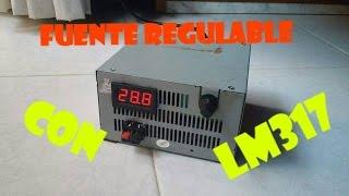 getlinkyoutube.com-Fuente Regulable de Laboratorio con LM317