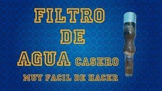 getlinkyoutube.com-COMO HACER UN FILTRO DE AGUA CASERO | MUY FÁCIL DE HACER