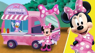 getlinkyoutube.com-MINNIE Mouse: Food Truck - for KIDS