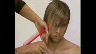 getlinkyoutube.com-Corte masculino por Selvaggio. Selvaggio man haircut.