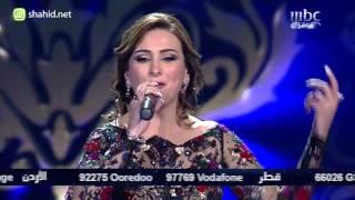 getlinkyoutube.com-Arab Idol - الأداء - فرح يوسف - بكتب إسمك يا بلادي