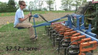 UMaine new research: Weed Control in Organic Cereals