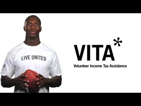 Tennessee Titan JasonMcCourty for United Way's VITA Program