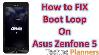 How to Fix boot loop on Asus Zenfone 5