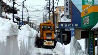 getlinkyoutube.com-一斉雪下ろしと排雪