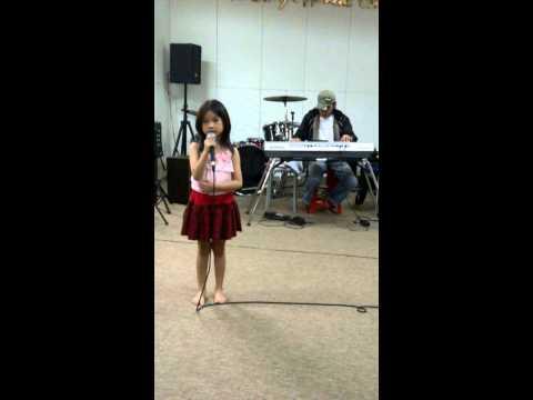 Vanessa claudia latihan lagu mandarin