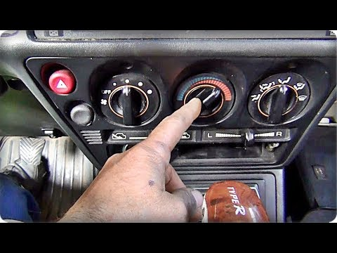 Не переключается заслонка печки. Mitsubishi Galant/My heater