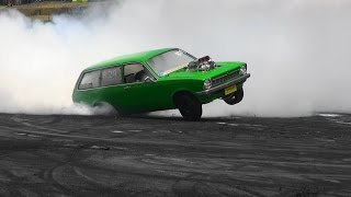 getlinkyoutube.com-LETSFRY AT TRIPLE CHALLENGE BURNOUTS SYDNEY DRAGWAY 12.12.2015