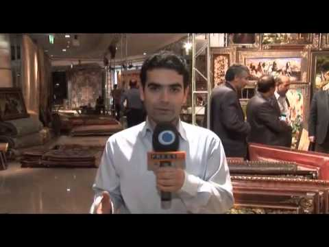 Tehran showcases delicate persian carpets