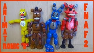 getlinkyoutube.com-Фнаф 2 из пластилина Сломанные аниматроники Withered Old Animatronics FNAF 2 Plastilin